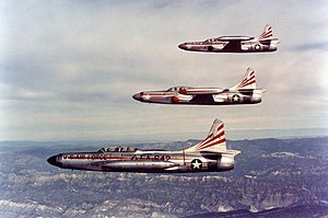 533d Air Defense Group - F-94 Starfires of the group's 354 FIS