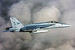 FA-18E Super Hornet of VFA-146 in flight on 2 August 2015.jpg