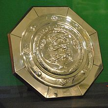 The FA Community Shield on display