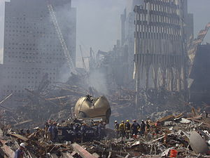 The Sphere - The Sphere after 9/11.