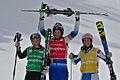 FIS Ski Cross World Cup 2015 - Megève - 20150313 - M. Hoeie Gjefsen, A. Holmlund et K. Ofner 4.jpg