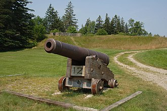 New Ireland (Maine) - Fort George (Castine, Maine) - British fort built to protect New Ireland