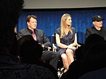 File:FRINGE On Stage @ the Paley Center - John Noble, Anna Torv, Akiva Goldsman (5741703920).jpg