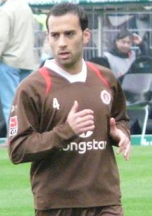 Fabio Morena - Morena with FC St. Pauli in 2008