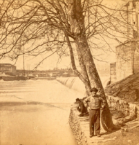 Fairmount Falls, Phila. Pa, from Robert N. Dennis collection of stereoscopic views-cropped-large