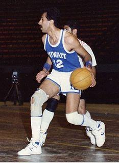 Bahraini basketball coach and basketball player