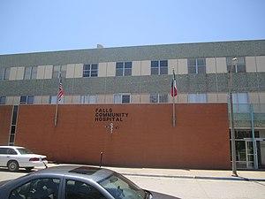 Marlin, Texas - Falls Community Hospital in Marlin