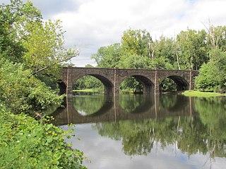 Farmington River Railroad Bridge United States historic place
