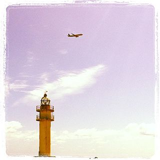 Punta de Melenara Lighthouse Lighthouse on Gran Canaria, Spain