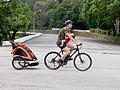 Father Taken Children Riding Bicycle in Chengkungling 20150606b.jpg