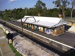 Faulconbridge railway station