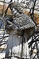Fehérgyarmat, templomkerti Nepomuki Szent János-szobor 2021 10.jpg