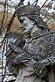 Fehérgyarmat, templomkerti Nepomuki Szent János-szobor 2021 14.jpg