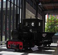 Feldbahn-Dampflokomotive Krauss & Cie. - 1903 - Verkehrszentrum München.JPG
