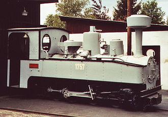 Feldbahn - Heeresfeldbahn Brigadelok 0-8-0T locomotive from WWI
