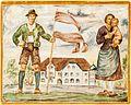 Feldkirchen Himmelberger Strasse 5 Antoniusheim Lobisser-Fresko Familie 28062016 3477.jpg