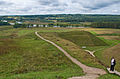 Felicity on the Kernave mounds, Lithuania, 11 Sept. 2008 (2848219387).jpg