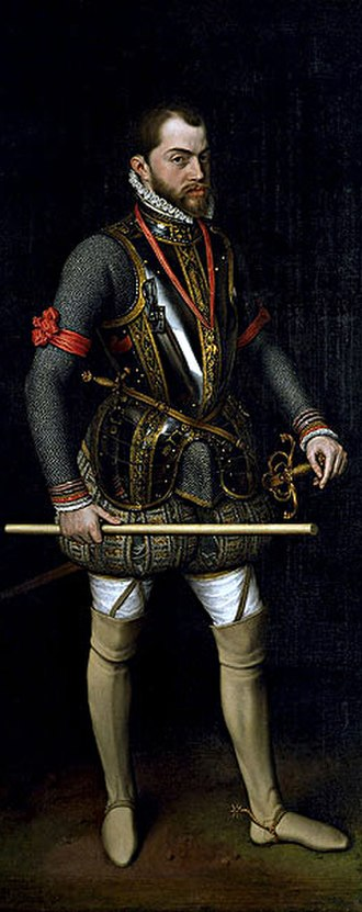 Dutch Revolt - Philip II, King of Spain