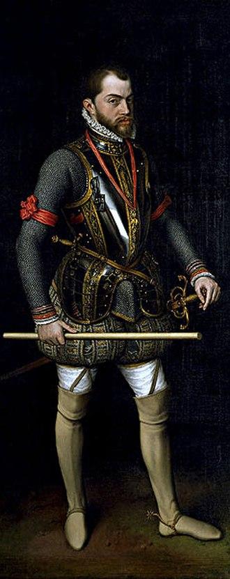 Dutch Revolt - Philip II, King of Spain