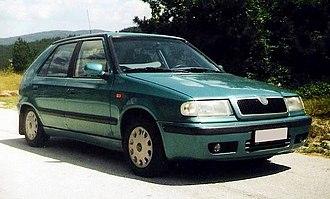 Škoda Felicia po faceliftu
