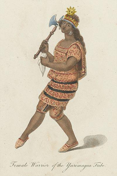 File:Female warrior of the Yurimagua Tribe Wellcome L0042054.jpg