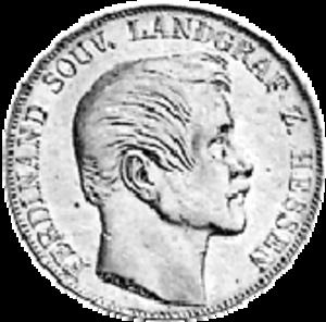 Ferdinand, Landgrave of Hesse-Homburg - Coin of Ferdinand