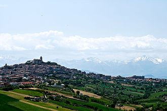 Fermo - Panorama of Fermo.