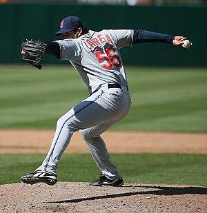 Fernando Cabrera (baseball) - Cabrera with the Cleveland Indians in 2007