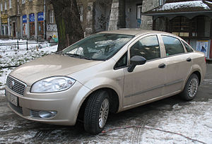 Tofaş - The first Fiat Linea was designed and produced in the Tofaş Fiat factory in Bursa, which remains the model's primary production plant for the EU market.
