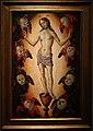 Fiorenzo di lorenzo, cristo eucaristico sul calice circondato da cherubini.jpg