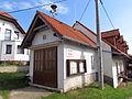 Fire station in Přeckov, Třebíč District.JPG