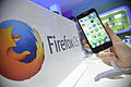 Firefox OS phone at MWC 2014 with logo.jpg