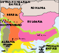 First Balkan War.SVG