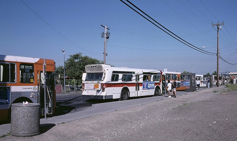 File:First Beaverton TC during a timed-transfer meet, June 1988.jpg