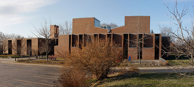 First Unitarian Church of Rochester NY North Side at West end 1227-8.jpg