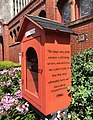 First Universalist Church of Rochester Little Free Library Right Side.jpg