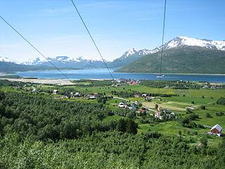 Tjeldsund Municipality in Troms og Finnmark, Norway