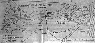 Flămânda Offensive - The plan of the offensive