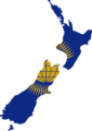 Flag map of New Zealand (Commonwealth of Nations).png