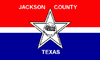 Flag of Jackson County, Texas