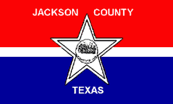 Flag of Jackson County, Texas.png