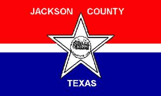 Jackson County, Texas - Image: Flag of Jackson County, Texas