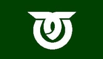 Kawakami, Nagano - Image: Flag of Kawakami Nagano