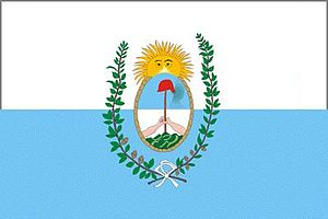 Campeonato Argentino - Image: Flag of Mendoza province in Argentina