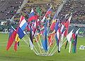 Flags at Josef Odlozil Memorial in Prague 14June2010 01.jpg