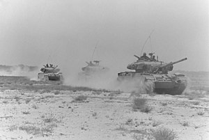 Battle of Abu-Ageila (1967) - Israeli Centurions on maneuvers shortly before the Six Day War
