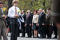 Flickr - Saeima - Svinīga ziedu nolikšanas ceremonija pie Brīvības pieminekļa (6).jpg