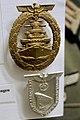 Flotten-Kriegsabzeichen (German WW2 High Seas Fleet Badge); Der Fuhrer am 1. april 1939 in Wilhelmshaven (Tirpitz launcing). Lofoten Krigsminnemuseum Norway 2018-05-09 DSC00385 (cropped).jpg