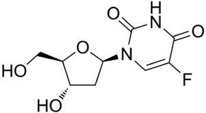 Pyrimidine analogue - Image: Floxuridine