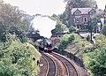 Flying Scotsman approaching Harrogate station. - geograph.org.uk - 845565.jpg
